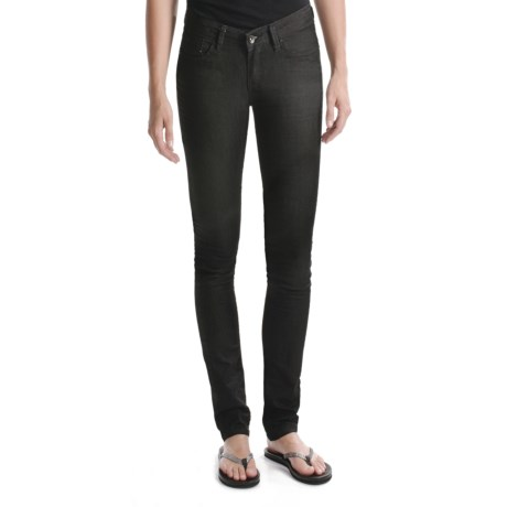 Element Fiddler Skinny Jeans (For Women) in Black