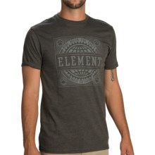 Element Geared T-Shirt - Short Sleeve (For Men) in Tar Heather - Closeouts