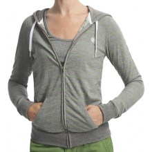 Element Gillian Hoodie Sweatshirt (For Women) in Grey Heather - Closeouts