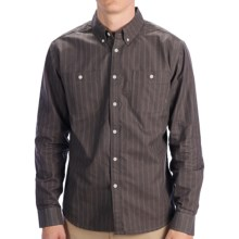 Element Gilmour Shirt - Long Sleeve (For Men) in Charcoal - Closeouts