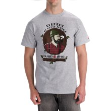 Element Graphic T-Shirt - Organic Cotton, Short Sleeve (For Men) in Jack Grey Heather - Closeouts