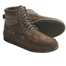 Element Hampton Boots - Leather, Lace-Ups (For Men) in Brown - Closeouts