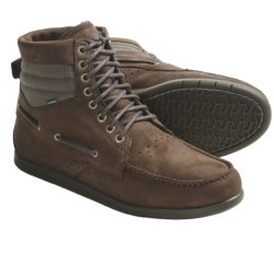 Element Hampton Boots - Leather, Lace-Ups (For Men) in Caramel