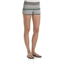 Element Lotus Shorts - Cotton Terry (For Women) in Grey Heather Reversible - Closeouts