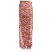 Element Mazatlan Maxi Skirt - Chiffon (For Women) in Natural - Closeouts