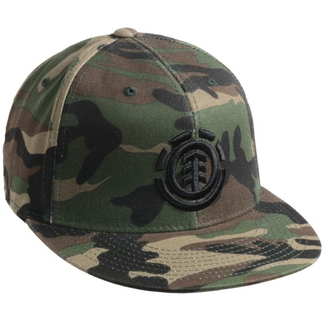 Element Peaceful Warrior Hat (For Men) in Camo