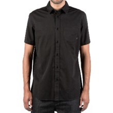 Element Recruit Shirt - Short Sleeve (For Men) in Black - Closeouts
