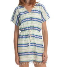 Element Robin Cover-Up Dress - Cotton, Short Sleeve (For Women) in Natural - Closeouts