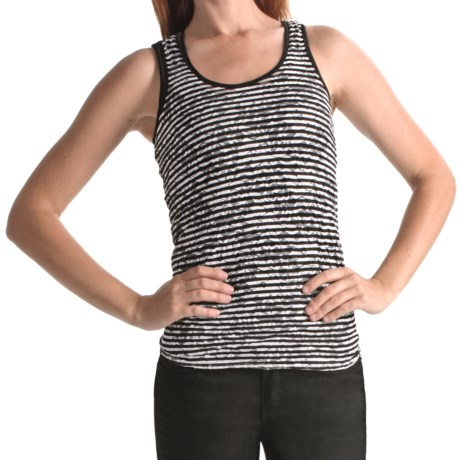 Element Siam Tank Top - Lace Knit (For Women) in Black