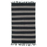 Element Solid Stripe Cotton Accent Rug - 27x45""