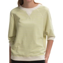 Element Tulip Sweater - 3/4 Sleeve (For Women) in Lime - Closeouts