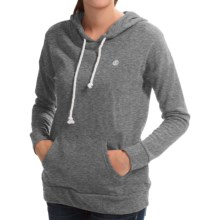 Element Twirl Hoodie (For Women) in Grey Heather - Closeouts