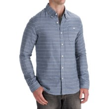 Element Upland Shirt - Long Sleeve (For Men) in Blue - Closeouts