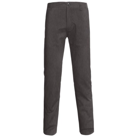 Element Venice Slim Pants - Straight Leg (For Men) in Charcoal Heather