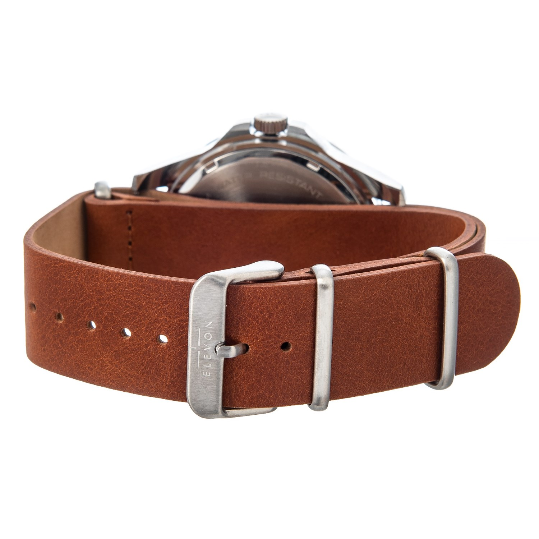 7b48c2a91 ELEVON Dumont Field Watch - Leather Strap (For Men)