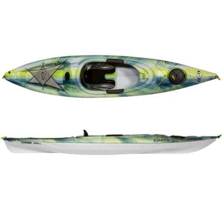 Elie Shoal 120XE Kayak in Electric/White/White