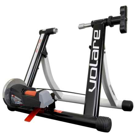 Elite Volare Mag Force Elastogel Turbo Bike Trainer in See Photo - Closeouts