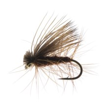 Elk Hair Caddis Dry Fly - Dozen in Brown - Closeouts