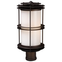"Elk Lighting Burbank Outdoor Sconce -16x8"", 1-Light in Clay Bronze - Closeouts"
