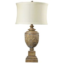 Elk Lighting Tropical Carving Urn Table Lamp in See Photo - Closeouts