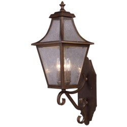 Elk Lighting Washington Avenue 3-Light Outdoor Wall Mount in Coffee Bronze