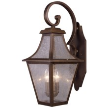 Elk Lighting Washington Avenue Lantern - Wall Mount in Coffee Bronze - Closeouts