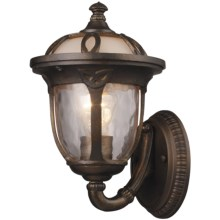 Elk Lighting Windsor 1-Light Outdoor Wall Sconce - Small in Hazelnut Bronze - Closeouts