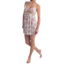 Ella Moss Audrey Chemise - Modal, Sleeveless (For Women) in Silver Rose - Overstock