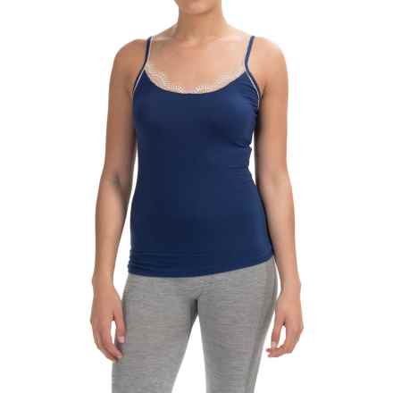 Ella Moss Audrey Tank Top - Micromodal® (For Women) in Blue Depths - Closeouts