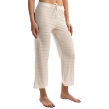 Ella Moss Skyler Crop Lounge Pants (For Women) in Natural Linen - Overstock