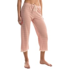 Ella Moss Skyler Crop Lounge Pants (For Women) in Scallop Shell - Overstock