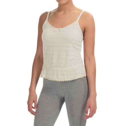 Ella Moss Skyler Cropped Camisole (For Women) in Natural Linen - Overstock