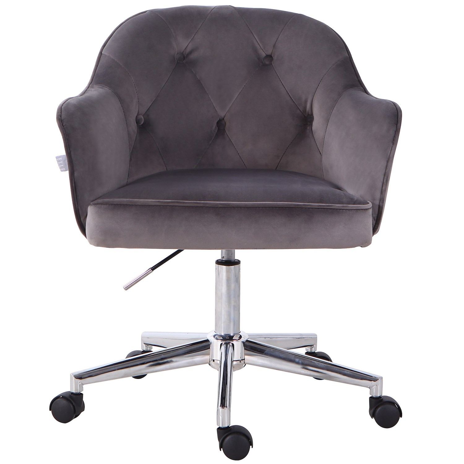 Pleasant Elle Decor Tufted Office Chair 23 5X23X30 75 Ibusinesslaw Wood Chair Design Ideas Ibusinesslaworg