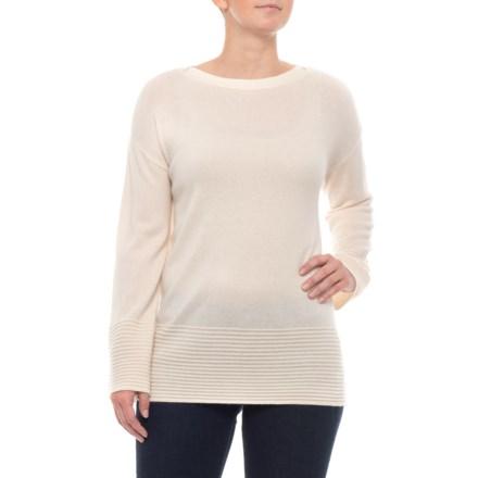1e4f05c083 Ellen Tracy 100% Cashmere Pullover Sweater (For Women) in Sweet Vanilla -  Closeouts