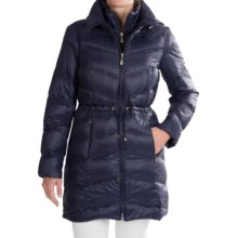 Ellen Tracy Anorak Packable Down Parka- 550+ Fill Power  (For Women) in Navy - Closeouts