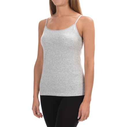 Ellen Tracy Camisole - Built-In Shelf Bra (For Women) in Grey Heather - Overstock