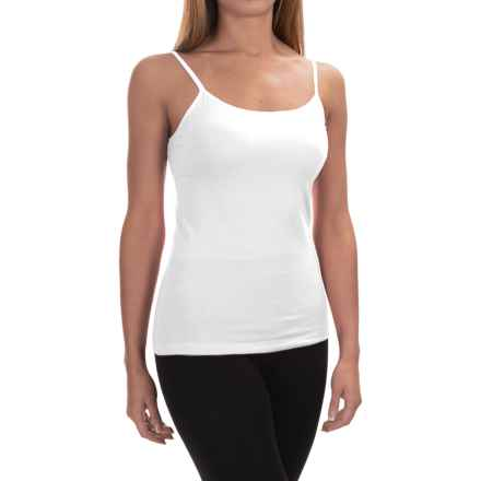 Ellen Tracy Camisole - Built-In Shelf Bra (For Women) in White - Overstock