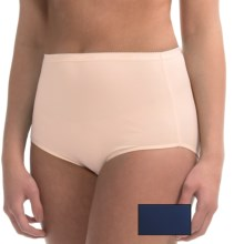 Ellen Tracy Full-Cut Panties - Briefs, 2-Pack (For Women) in Blush/Navy - Closeouts