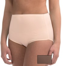 Ellen Tracy Full-Cut Panties - Briefs, 2-Pack (For Women) in Blush/Nutmeg - Closeouts