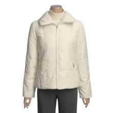 Ellen Tracy Outerwear Down Jacket - Packable (For Women) in Ivory - Closeouts