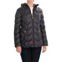 Ellen Tracy Outerwear Packable Down Jacket - Hooded (For Women) in Black - Closeouts