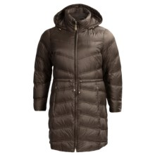 Ellen Tracy Packable Down Coat with Vestie (For Plus Size Women) in Olive - Closeouts