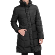 Ellen Tracy Quilted Down Walker Coat (For Women) in Black - Closeouts