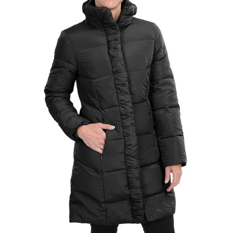 Ellen Tracy Quilted Down Walker Coat (For Women)