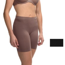 Ellen Tracy Seamless Control Slip Shorts - 2-Pack (For Women) in Black/Mocha - Overstock