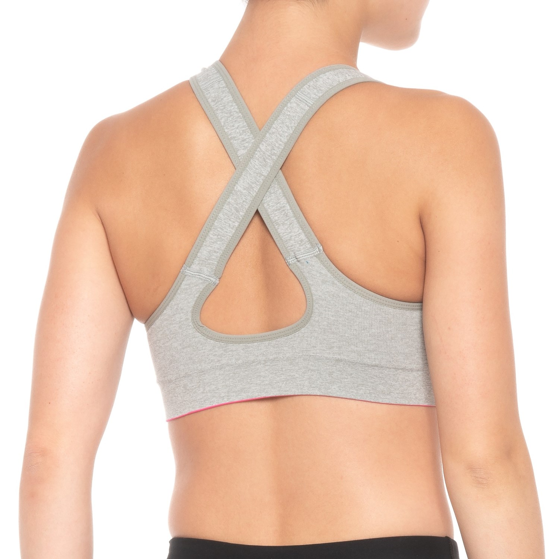 f407f4dd28 Ellen Tracy Seamless Cross-Back Sports Bra (For Women) - Save 73%