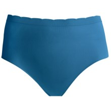 Ellen Tracy Seamless Panties - Full-Cut Briefs (For Women) in Peacock - Closeouts