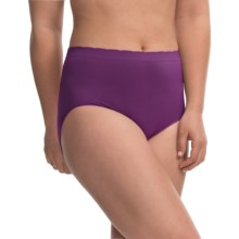 Ellen Tracy Seamless Panties - Full-Cut Briefs (For Women) in Plum - Closeouts