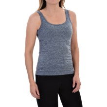 Ellen Tracy Seamless Sensation Logo Camisole (For Women) in Heather Denim - Closeouts