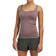Ellen Tracy Seamless Sensation Logo Camisole (For Women) in Mocha - Closeouts